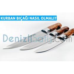 Kurban bıçağı nasıl olmalı?